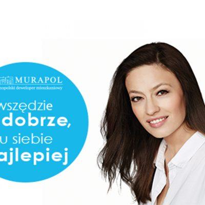 Magdalena Różczka as a brand ambassador for Murapol Group